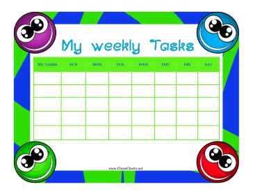 Child Weekly Tasks