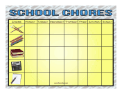 Subjects Chore Chart